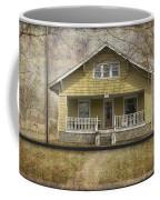 Sample Paneled Yellow Bungalow Coffee Mug