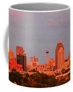 San Antonio - Skyline At Last Light Coffee Mug
