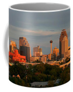 San Antonio - Skyline At Sunset Coffee Mug