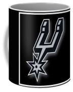 San Antonio Spurs Coffee Mug by Tony Rubino