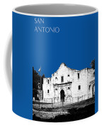 San Antonio The Alamo - Royal Blue Coffee Mug