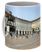 San Carlo Square In Turin Coffee Mug