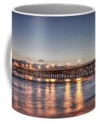 San Clemente Pier At Night Coffee Mug by Richard Cheski