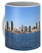 San Diego Ca Harbor Skyline Coffee Mug