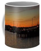 San Diego Harbor Sunset Coffee Mug