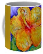 San Diego Hibiscus Study IIi Upward Facing  Coffee Mug