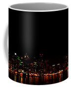 San Diego Night Skyline Coffee Mug