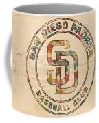 San Diego Padres Logo Art Coffee Mug