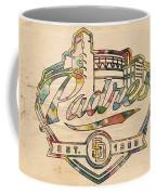 San Diego Padres Memorabilia Coffee Mug