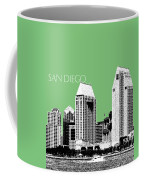 San Diego Skyline 2 - Apple Coffee Mug