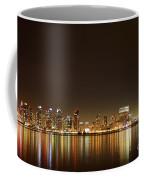 San Diego Skyline Night Coffee Mug