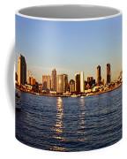 San Diego Skyline Coffee Mug