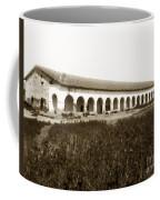 San Fernando Mission Circa 1900 Coffee Mug