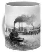 San Francisco Bay, C1889 Coffee Mug