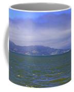 San Francisco Bay Golden Gate Bridge    Alcatraz Panorama Coffee Mug