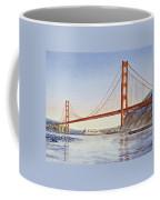 San Francisco California Golden Gate Bridge Coffee Mug
