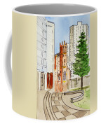 San Francisco - California Sketchbook Project Coffee Mug by Irina Sztukowski