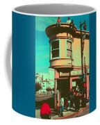San Francisco 1968 Pop Art Coffee Mug