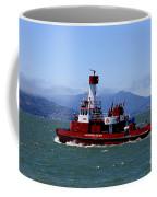 San Francisco Fire Department Fire Boat Coffee Mug