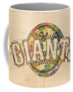 San Francisco Giants Poster Art Coffee Mug