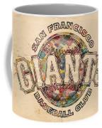 San Francisco Giants Poster Vintage Coffee Mug