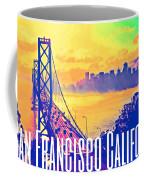 San Francisco Postcard Coffee Mug
