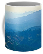 San Francisco Skyline From Mount Tamalpias-california Coffee Mug