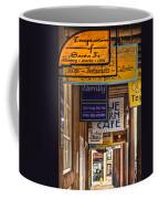 San Francisco Street Shops Coffee Mug