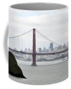 San Francisco Through The Golden Gate Coffee Mug