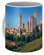 San Gimignano Skyline Coffee Mug