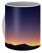 San Jacinto Mountains Crescent Moon Coffee Mug