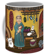 San Pascuals Kitchen Coffee Mug by Victoria De Almeida