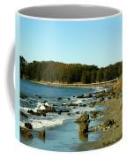 San Simeon Pier Coffee Mug