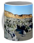 San Simeon Rocky Beach Coffee Mug