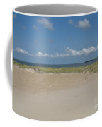 Sand And Ocean Of Assateague Island National Seashore Coffee Mug