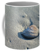 Sand And Seashell Coffee Mug