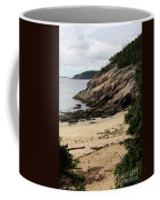 Sand Beach Acadia Park Coffee Mug