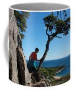 Sand Beach From The Beehive Coffee Mug