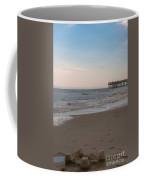 Sand Castle At Beach Coffee Mug