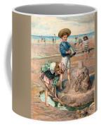 Sand Castles At The Beach Coffee Mug