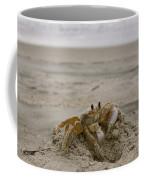 Sand Crab Coffee Mug by Nelson Watkins