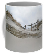 Sand Dune And Fence Coffee Mug