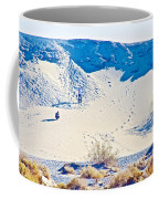 Sand Dune Bordering Salt Creek Trail In Death Valley National Park-california Coffee Mug