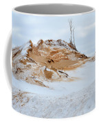 Sand Dune In Winter Coffee Mug