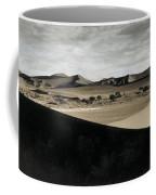 Sand Dunes In A Desert, Namib Desert Coffee Mug