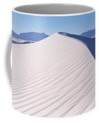 Sand Dunes In A Desert, White Sands Coffee Mug