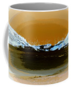 Sand Dunes In White Coffee Mug