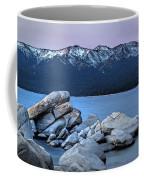 Sand Harbor Rocks Coffee Mug