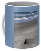 Sand Mogul On Florida Beach Coffee Mug