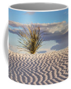 Sand Patterns And The Yucca Coffee Mug